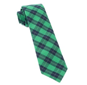 Streetwise Check Green Ties