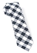 Ties - Streetwise Check - Black