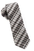 Ties - Longboard Plaid - Charcoal