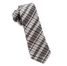 Charcoal Longboard Plaid By Dwyane Wade ties