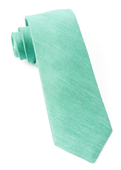 Ties - Sand Wash Solid - Kelly Green