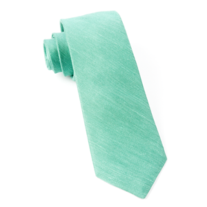 sand wash solid kelly green ties