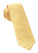 Ties - Dotted Dots - Yellow