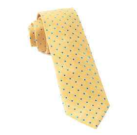 Yellow Dotted Dots ties