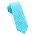 Similar Item - Turquoise Dotted Dots Tie