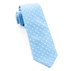 Light Blue Dotted Dots Tie - Light Blue Dotted Dots Tie primary image