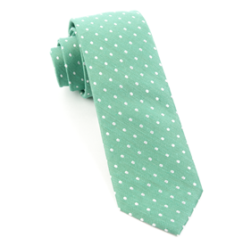 Dotted Dots Mint Ties