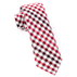 Red Gibson Check Tie - Red Gibson Check Tie primary image