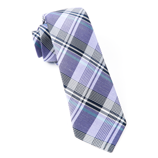 bryant plaid lavender ties