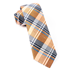 Orange Bryant Plaid Tie - Orange Bryant Plaid Tie primary image
