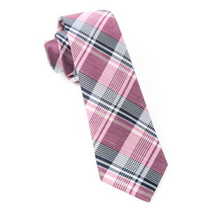bryant plaid pink ties