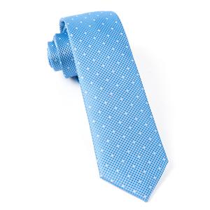showtime geo light blue ties