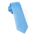 Light Blue Showtime Geo Tie - Light Blue Showtime Geo Tie primary image