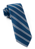 Ties - Dotted Line - Navy