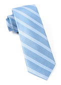 Ties - Dotted Line - Light Blue