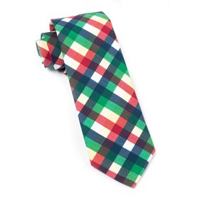 Green Acoustic Check ties