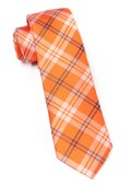 Ties - PERRY PLAID - ORANGE