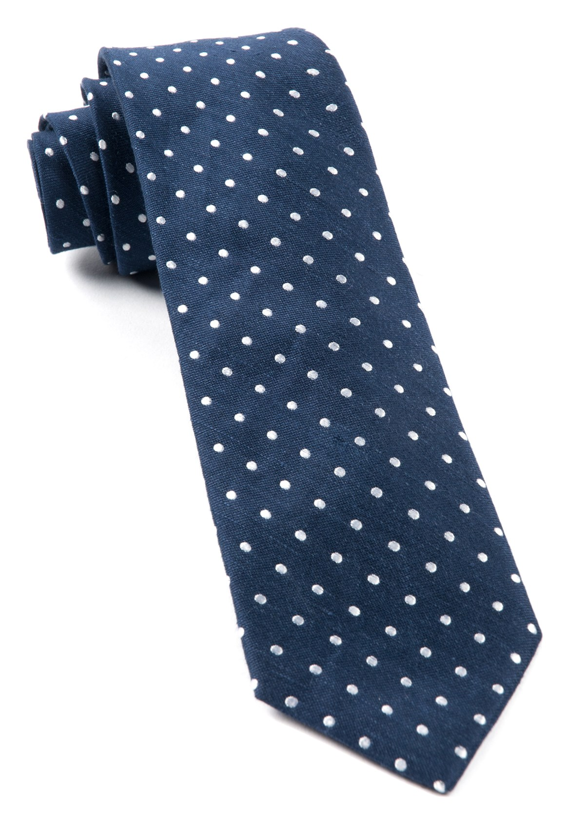 f810581a38b6 Navy Dotted Dots Tie