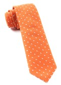 Ties - Dotted Dots - Orange