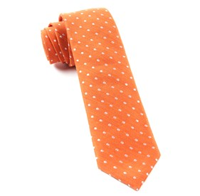 Dotted Dots Orange Ties