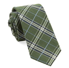 Clover Green Marshall Plaid ties