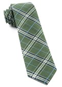 Ties - Marshall Plaid - Clover Green