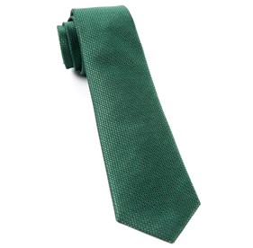 Sideline Solid Emerald Green Ties