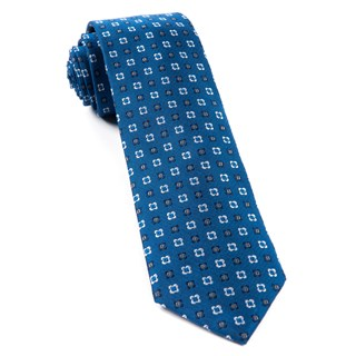 Steady Bloom Serene Blue Tie