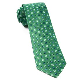 Kelly Green Steady Bloom ties