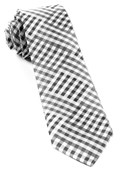 Ties - E Check - Black