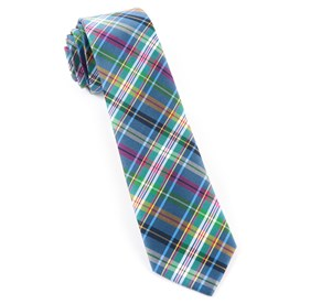 Periwinkle Corrigan Plaid ties