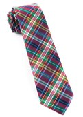 Ties - Corrigan Plaid - Red