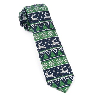 holiday gamer navy ties