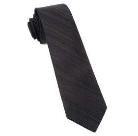 Black Indie Solid ties