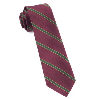 kennedy stripe burgundy ties