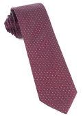 Ties - Square Root - Burgundy