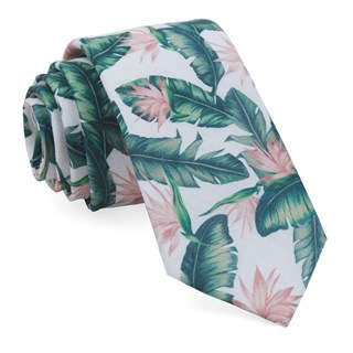 Mumu Weddings - Paradise Found Green Tie