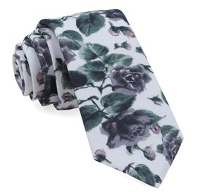 Purple Mumu Weddings - Floral Falls ties