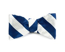 Bow Ties - CLASSIC TWILL - Light Silver