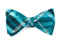 Bow Ties - GENT PLAID - TEAL