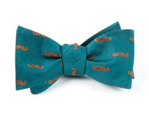 Bow Ties - ZE MOUSTACHE - GREEN TEAL