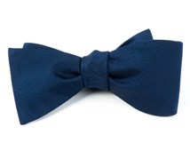BOW TIES - GROSGRAIN SOLID - NAVY