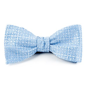 opulent light blue bow ties