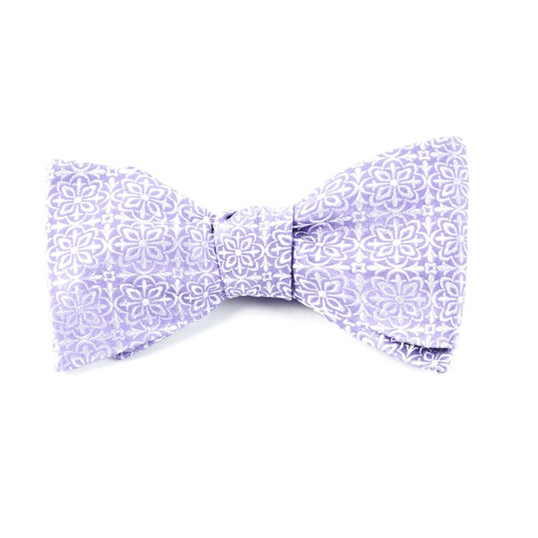 Lilac Opulent Bow Tie