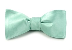 BOW TIES - SOLID SATIN - SPEARMINT