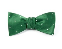 Bow Ties - SATIN DOT - HUNTER