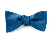 BOW TIES - STATIC SOLID - NAVY
