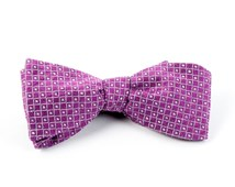 Bow Ties - CITY LIGHTS - MAGENTA