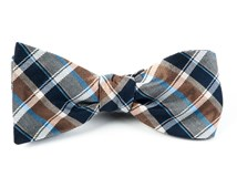 Bow Ties - MCFADDEN PLAID - NAVY