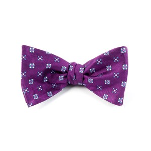 juneberry plum bow ties